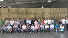 El Cluster de la Alfalfa realizó una visita a la planta de Alfazal en Villa Mercedes, San Luis